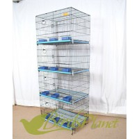 Cage 4 portion for breeding  24x12x18