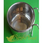 Stainless Steel Feed  & Water Bowls with clip